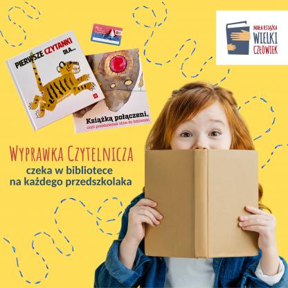 Bezpłatna wyprawka Czytelnicza dla każdego przedszkolaka!