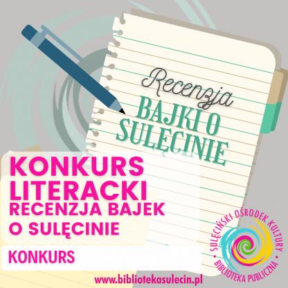 """Konkurs Literacki - recenzja """"Bajek o Sulęcinie - Audiobook"""""""