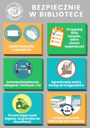 Nowe zasady funkcjonowania Biblioteki Publicznej w Sulęcinie