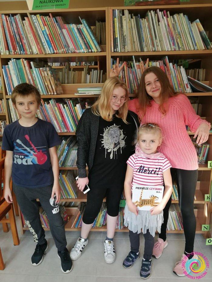 Październik w bibliotece w Ostrowiu