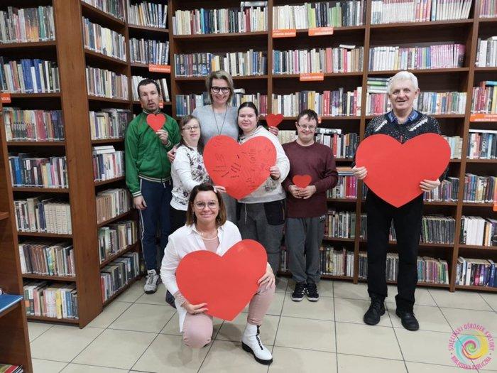 Spotkanie z uczestnikami Środowiskowego Domu Samopomocy w Sulęcinie - rozmawiamy o MIŁOŚCI