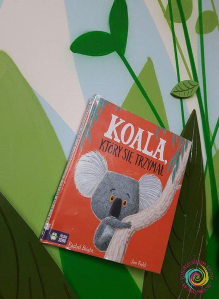"""Czytanie na przedszkolnym dywanie - """"Koala, który się trzymał"""""""