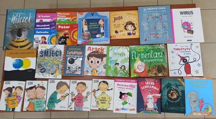 Nowości w Oddziale dla Dzieci - zapraszamy najmłodszych czytelników! 📚