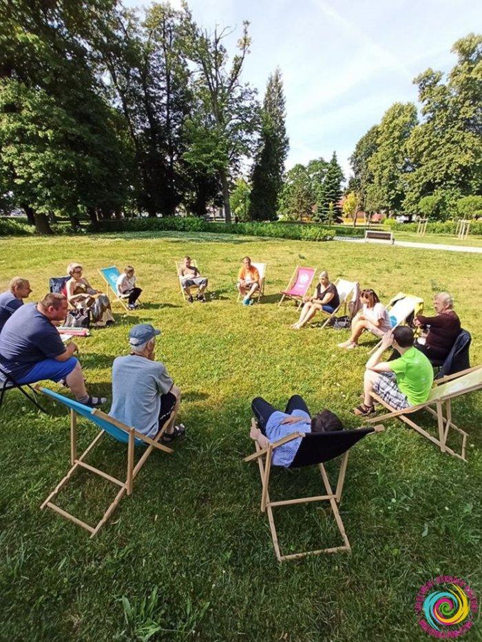 Gramy w Parku Miejskim! Spotkanie z uczestnikami Środowiskowego Domu Samopomocy w Sulęcinie