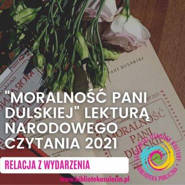 Narodowe Czytanie 2021- relacja z wydarzenia